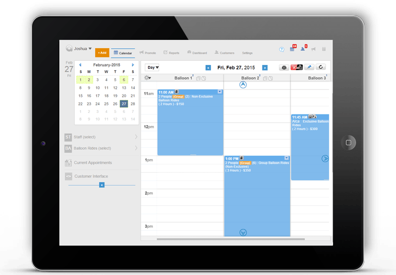 Activity and Event Scheduling Software